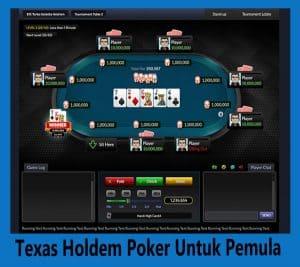 Texas Holdem Poker untuk pemula