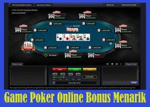 Game Poker Online Bonus Menarik